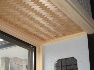 志水木材の和室制作2