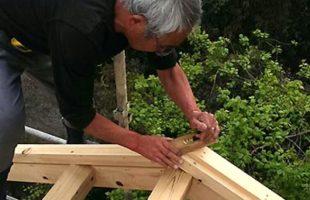 農家納屋の造作
