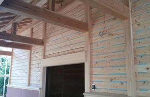 納屋の新築工事