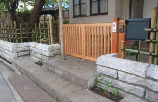 木製門扉製作