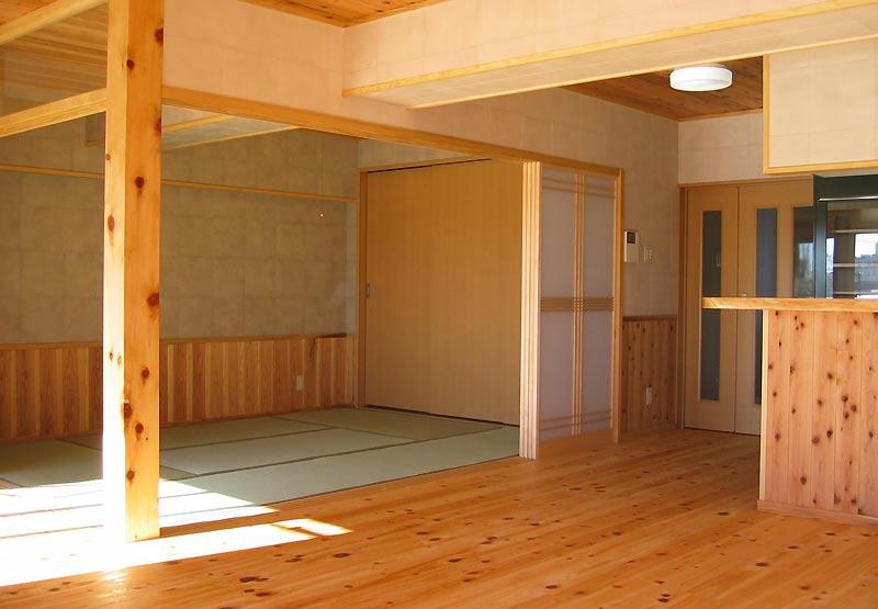 自然素材を使ったマンションリフォーム例①