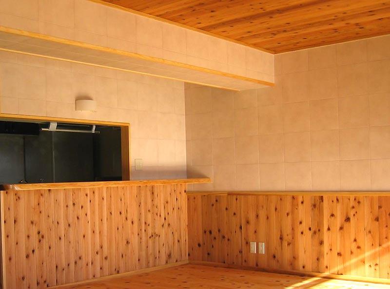 自然素材を使ったマンションリフォーム例④