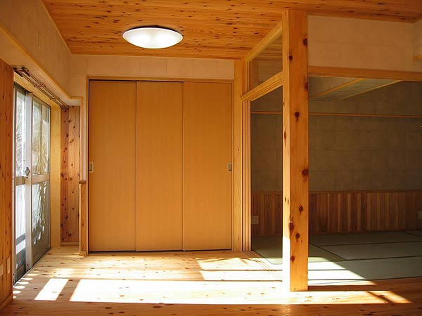 自然素材を使ったマンションリフォーム例②