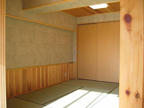 自然素材を使ったマンションリフォーム例③