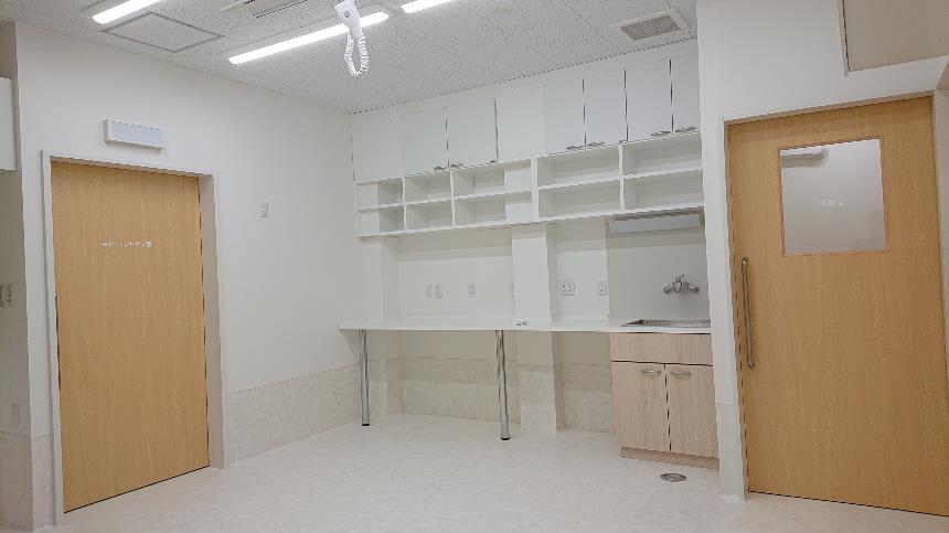 どうぶつ病院処置室