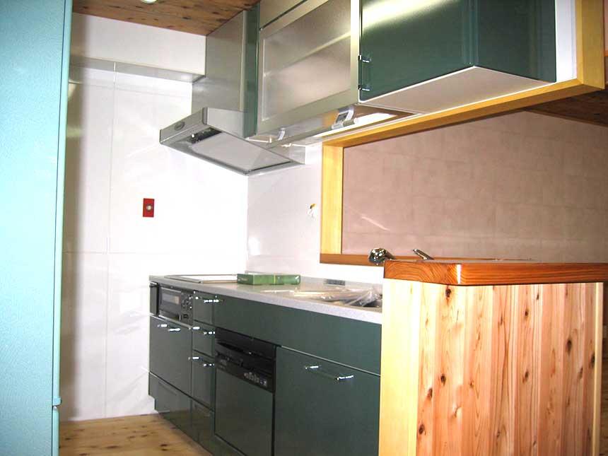 自然素材を使ったマンションリフォーム例⑤