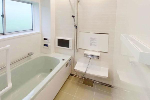 柱型がある浴室のリフォーム