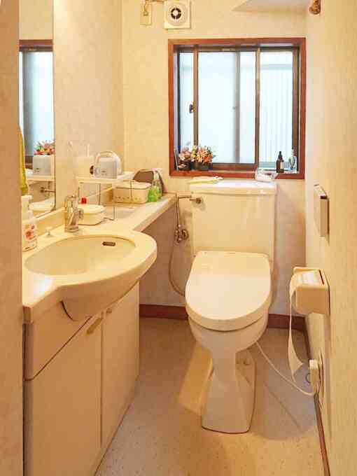 施工前既存トイレ