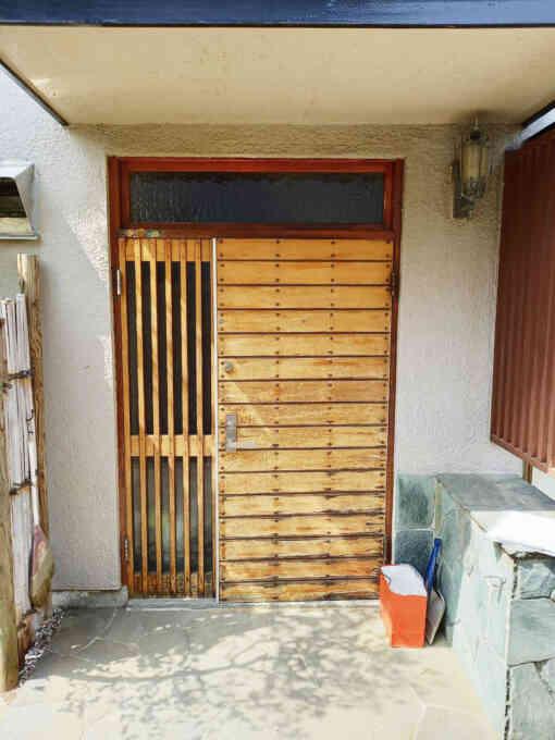 施工前 既存の玄関ドア
