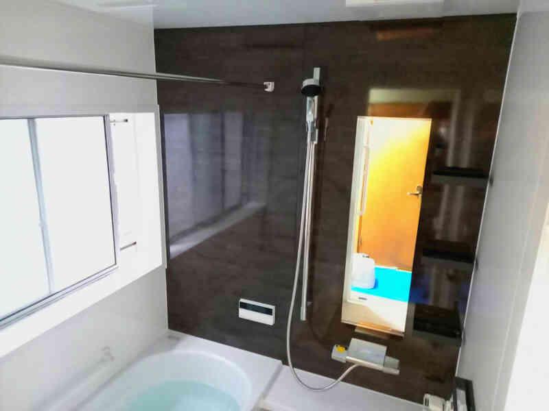 完成後の浴室②
