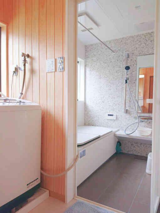 脱衣室(完成)浴室側