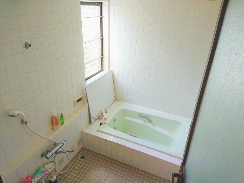 施工前浴室①