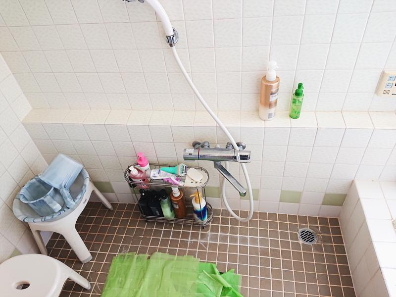 施工前浴室③