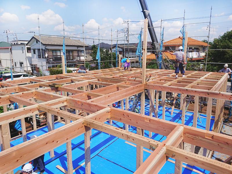 建て方工事①