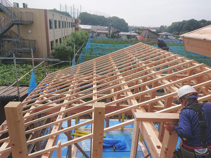 建て方工事②